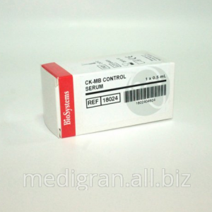 CK – MB Control serum 1x0.5 ml