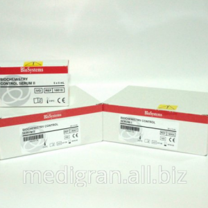 BIOCHEMISTRY CONTROL SERUM 5x5   ml LEVEL I