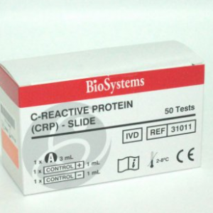 C – REACTIVE PROTINE (CRP) – SLIDE 1x3 ml