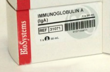 IMMUNGLOBULIN A (IgA) 1x50   ml
