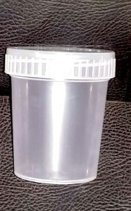Cup collection of urine (JPF)