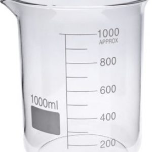 Glass Beaker 1 litre (1000 ml) germany