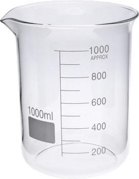 Glass Beaker 1 litre (1000 ml) germany