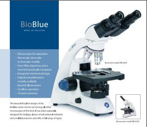 Microscope Euromax bioblue bb4260 made in Holland