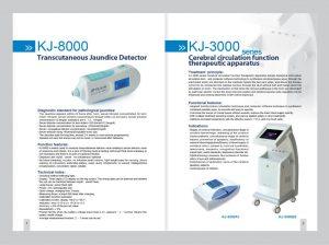 transcutaneous jaundice detector KJ8000 made in China