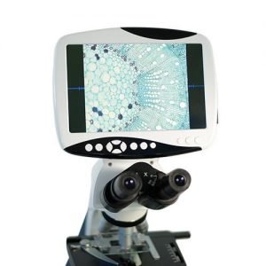 American Binocular Microscope with LCD Screen Velab  VE_653