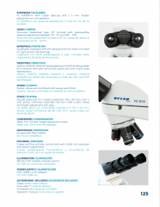 American Biological Microscope Velab VE_B50