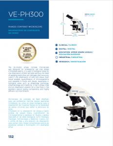 American Phase Contrast Microscope Velav VE_PH300