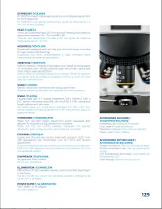 American Trinocular Microscope Velab VE_T300