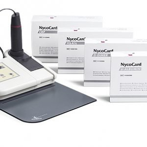 Nycocard device for HbA1C & CRP& D-Dimer made in Norway